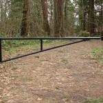black vehicle barrier
