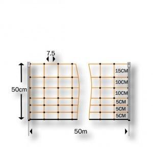 Rabbit Net diagram and measurements