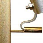 Reel bracket for electric fencing
